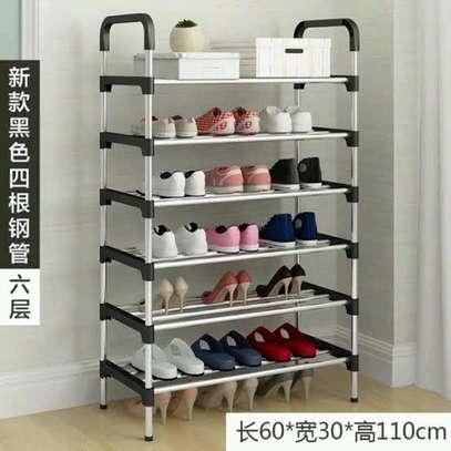 Shoe rack 4 layers image 1