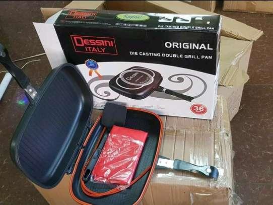Original Dessine non~stick double grill pan now available image 2