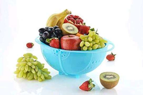 *Vegetable fruits bowl and strainer . image 2