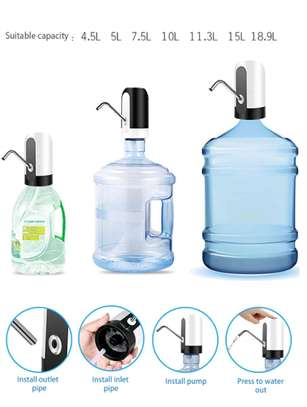Portable mini electric bottled water pump image 4