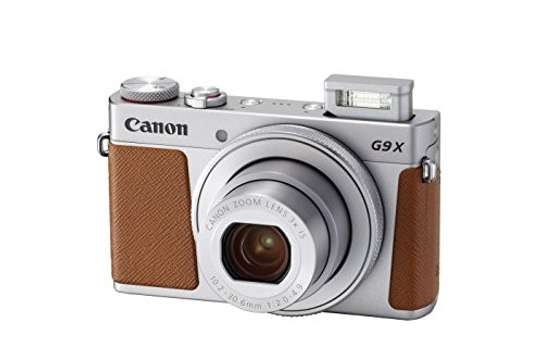 Canon PowerShot G9 X Mark II Compact Digital Camera w/ 1 Inch Sensor and 3inch LCD - Wi-Fi, NFC, Bluetooth Enabled image 1