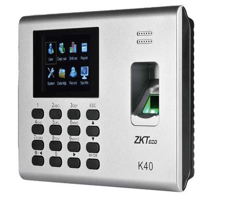 k40 biometric time attendance device