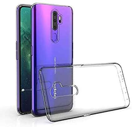 Clear TPU Soft Transparent case for Oppo A5 2020/A9 2020 image 1