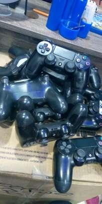 Ps4 Original Pad Controllers Black image 2