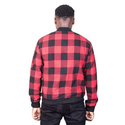 Black & Red Checked Jacket image 2
