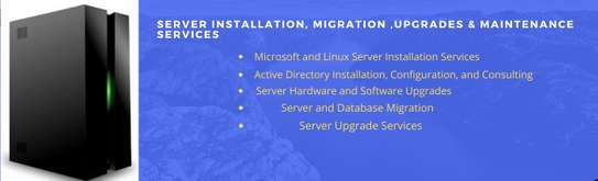 Server Installation, Migration ,Upgrades and Maintenance services