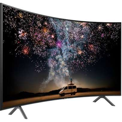 Samsung 55 inch curved TV image 1