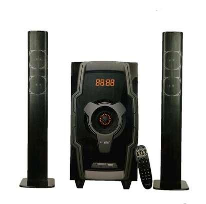 V528 Bluetooth Subwoofer tallboy/soundbar system image 4