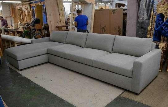 Five seater grey L shaped sofas/sofas for sale in Nairobi Kenya image 1