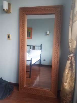 Wooden Frame Mirror ( Classic High Quality )