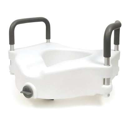 Raised Toilet Seat with Extra Wide Opening - Toilet raiser image 3