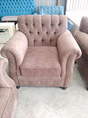 One seater sofa/tufted sofas/single seater sofa image 1