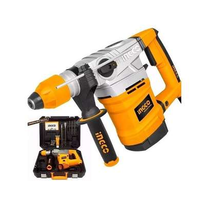 Rotary Hammer - 1800W, 3 Drills And 2 Chisels image 1