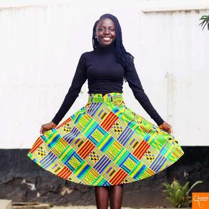Ankara skirt image 1