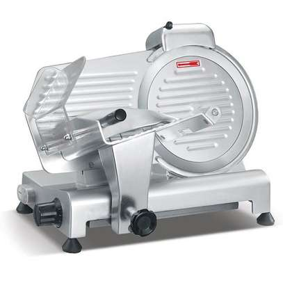 Commercial Meat Slicer Electric Meat planer 8 inch Frozen Fat Cattle/Mutton Roll Slicer Semi-Automatic Skiving machine image 2
