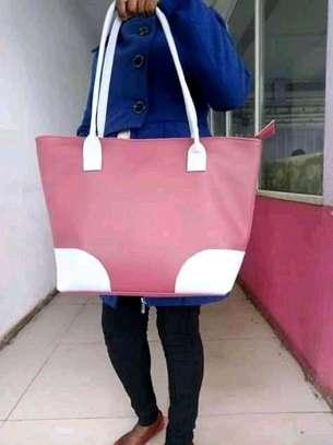 Ladies shoulder bag(maroon) image 1