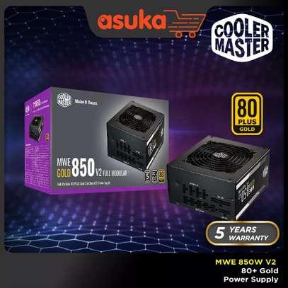 Coolermaster MWE 850 WATTS V2 80 PLUS GOLD Full Modular Gaming Power Supply image 1