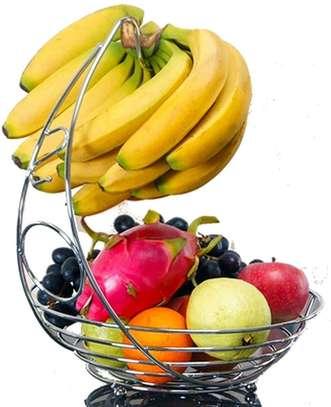Stainless Steel Fruit Basket Holder Rack image 3
