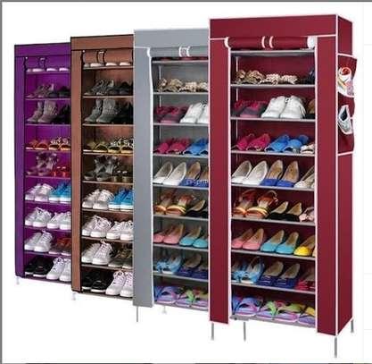 Single column shoe rack image 1