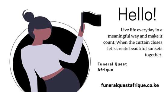 Customized A4 Funeral Programs image 4