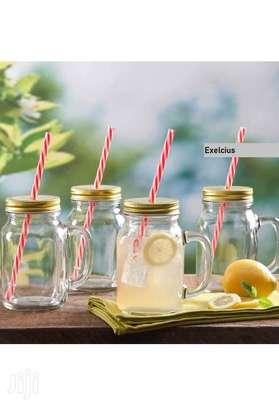 Mason Juice Smoothie Drink Kid Child Adult Home Party Mug image 6
