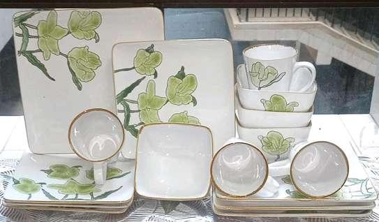 *Stoneware tempered 16pcs ceramic dinner sets* image 1