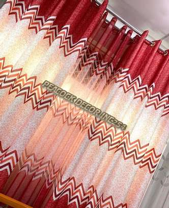 Elegant printed curtains and sheers image 11