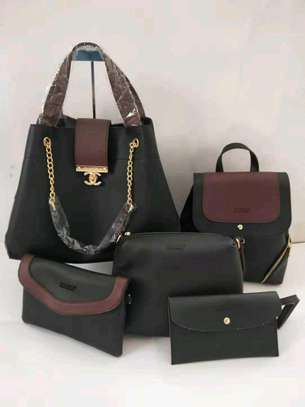 5in 1 Leather Handbags image 5