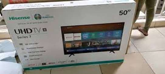 50 Inches Hisense Smart Android 4K Uhd Tv image 1