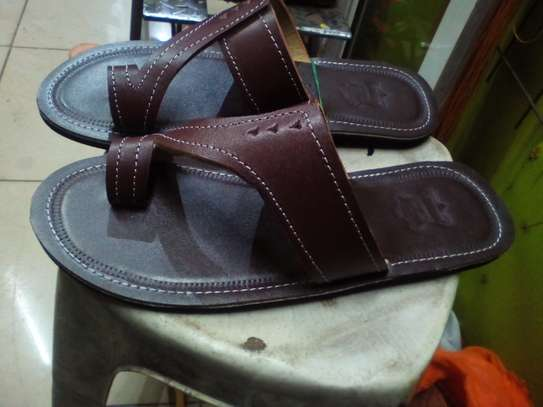 Leather Open Shoes image 7