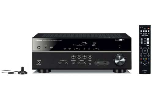 Yamaha RX-D485 5.1-Channel A/V receiver featuring MusicCast Surround capability