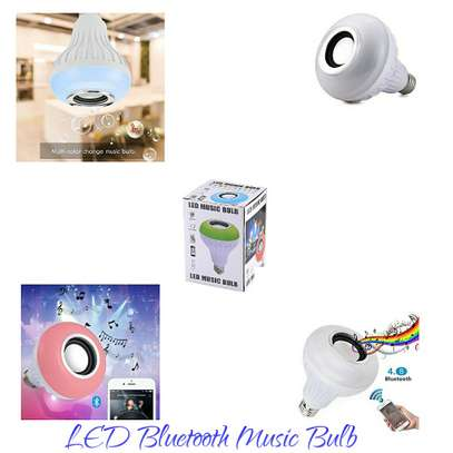 LED Bluetooth music bulb