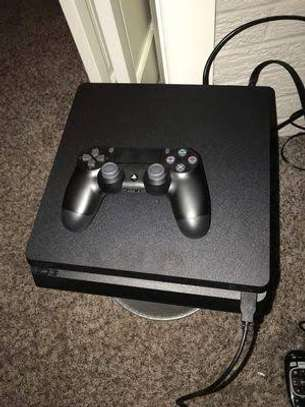 PlayStation 4 console. With game