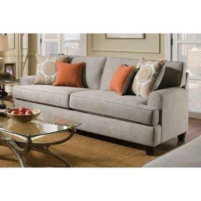 Stylish Modern Quality Sheltered Arm 3 Seater Sofa image 1
