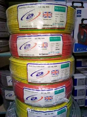 6.0 mm Single core Electrical cable