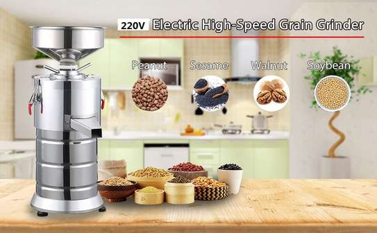 Peanut butter making machine, sesame sauce making machine, sesame grinder, 15kg / h image 1