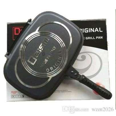 Double pan/desini grill pan image 1