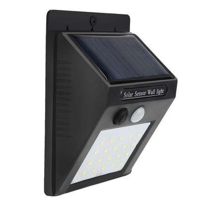 Motion Sensor Solar Light Lamp