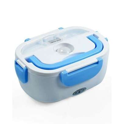 Electric Lunch Box - White & Blue image 1