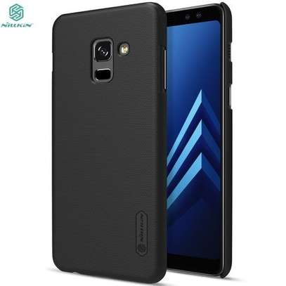 Nilkin Super Frosted Shield Executive Case for Samsung A6 plus-Black image 1