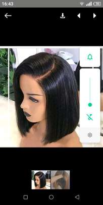 Best quality human hair Bob in stock image 1