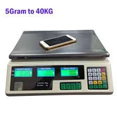 Acs 40 Big LCD LED Display Digital Price Wholesale Scale image 1