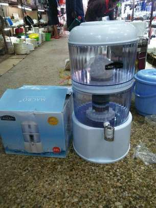Water Purifier With Dispensing Tap - 20 Litres - White image 1