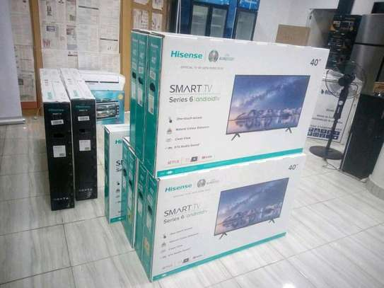 40 inch Hisense Smart Android Full HD image 1