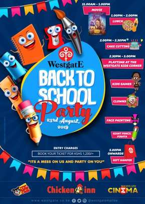 Westgate Back to School Party