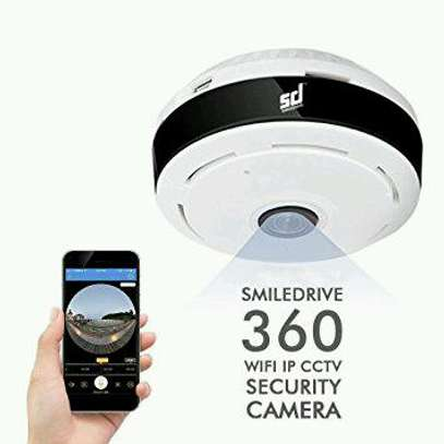 Panoramic WiFi CCTV Camera