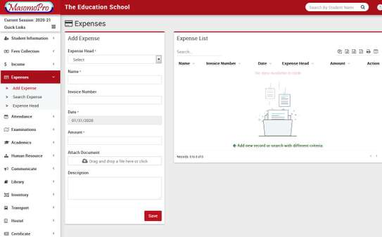 School Management  ERP System image 13