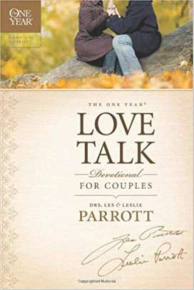 The One Year Love Talk Devotional for Couples (One Year Signature) Paperback – October 1, 2011 by Les Parrott  (Author), Leslie Parrott  (Author) image 1