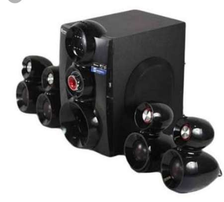 Brand new sayona 4.1multimedia speaker 16000 watts available in my shop image 2