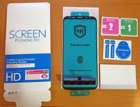 Ceramic Full 5D Glass Protector Flexible Anti-Break,Anti-Fingerprint for Samsung S9 S9 Plus image 4